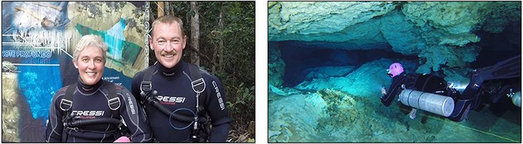 Dave Edgelow - Sidemount Essentials + Full Cave Course, Mexico (December 2013)