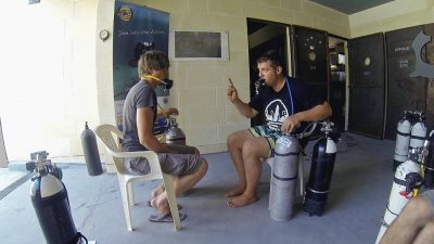 "Article - Sidemount divers going ""back"" to backmount 3"