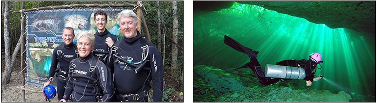 Karen Edgelow - Sidemount Essentials + Cavern Course, Mexico (December 2013)