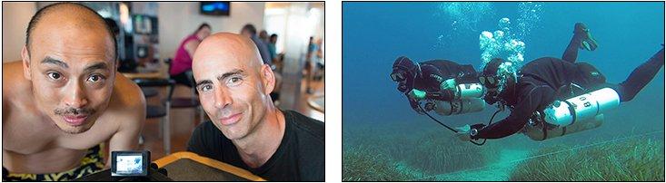 Kevin Wong - Sidemount Essentials & Tec Normoxic, Gozo Malta (July 2013)