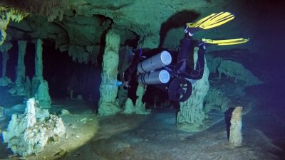 Cave Diver Training Courses ...in Mexico