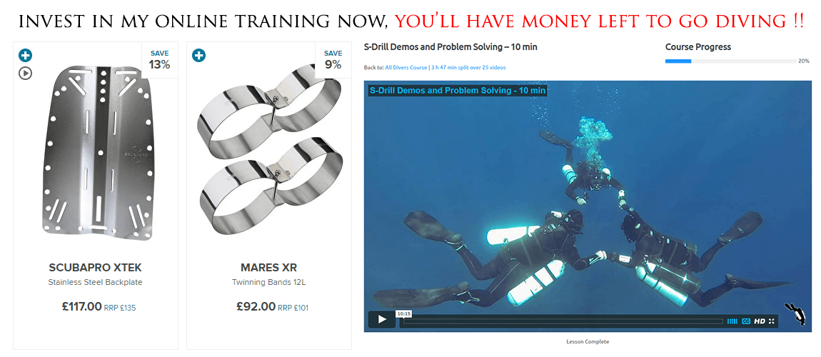 Spend money on training where the real value is