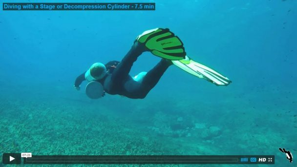 Diving with a Stage or Decompression Cylinder - 7.5 min
