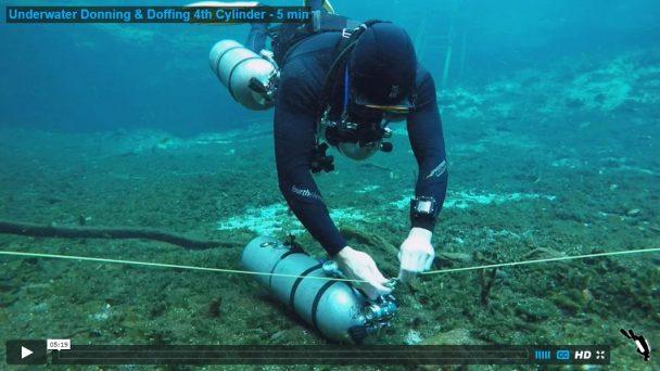 Underwater Donning & Doffing 4th Cylinder - 5 min
